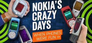 הטלפונים המוזרים של נוקיה. צילומסך: Youtube