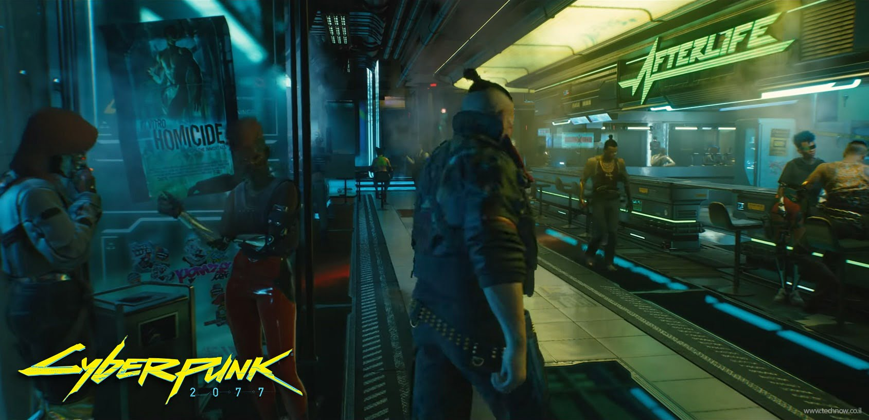 CyberPunk 2077 בקרוב
