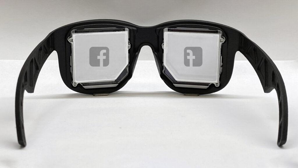 משקפיים חכמים facebook. צילום: פייסבוק