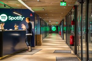 משרדי Spotify בשוודיה