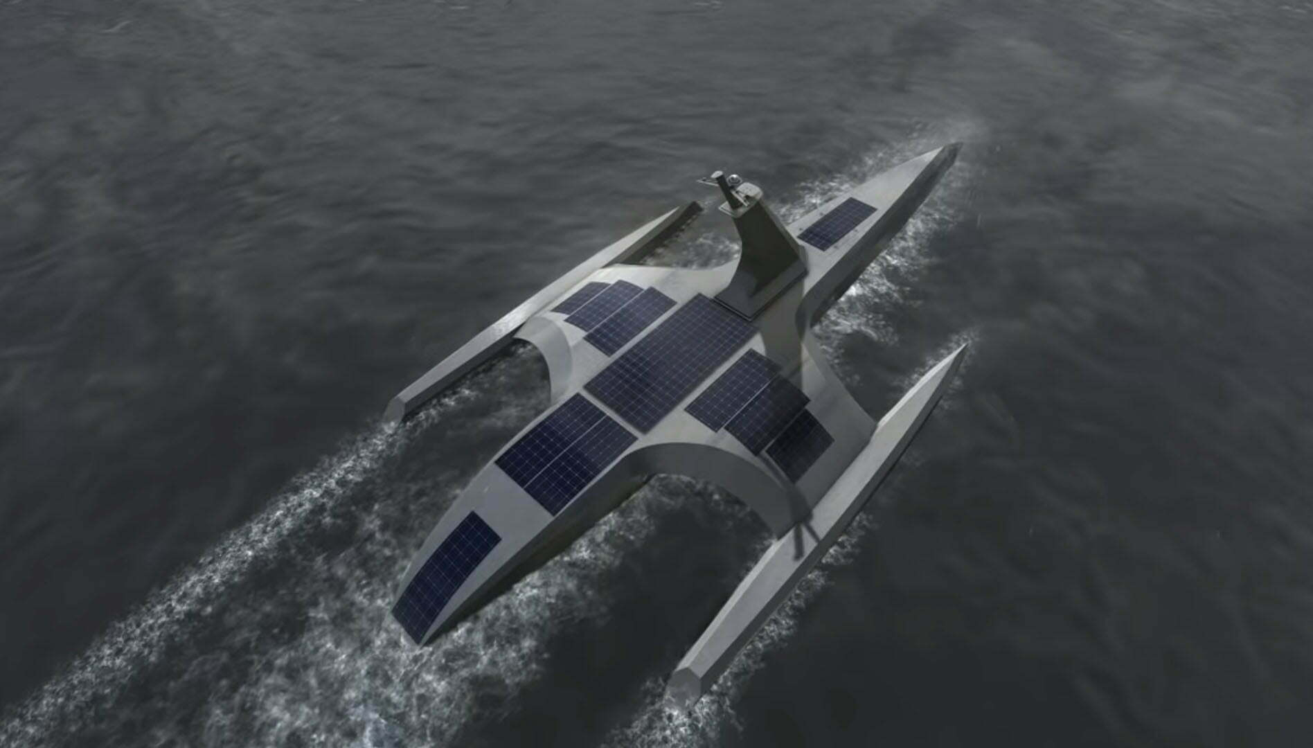 ספינה אוטונומית (קרדיט: IBM)