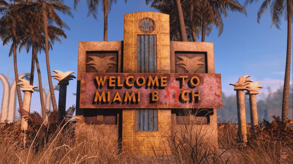 מתוך הטריילר של Fallout Miami