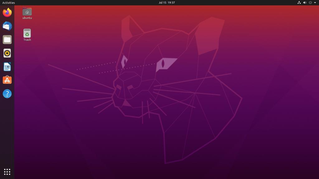 Desktop Ubuntu נלקח מויקיפדיה