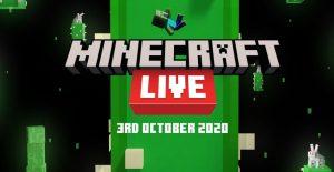 Minecraft Live. מתוך אתר מיינקראפט