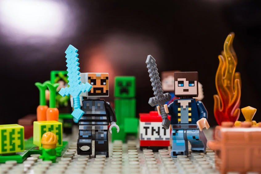 מיינקראפט Minecraft (צילום: 123RF)