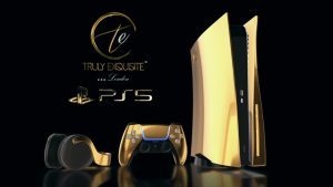 playstation5 gold 24k