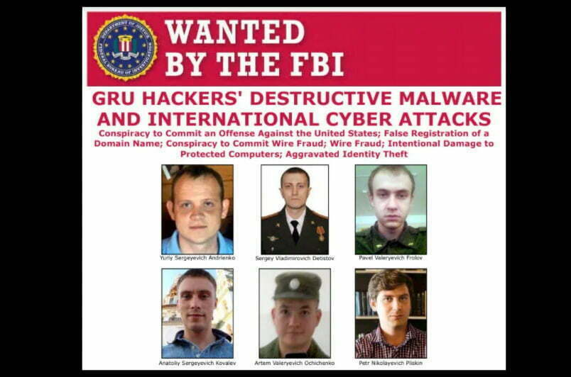 האקרים רוסים מבוקשים FBI