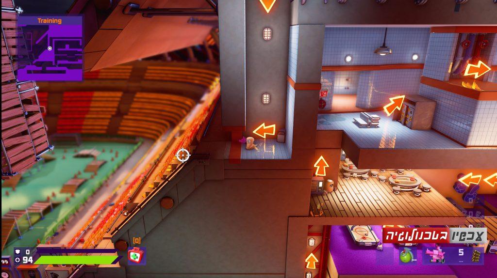 Worms Rumble ביקורת משחק. צילומסך: עכשיו בטכנולוגיה