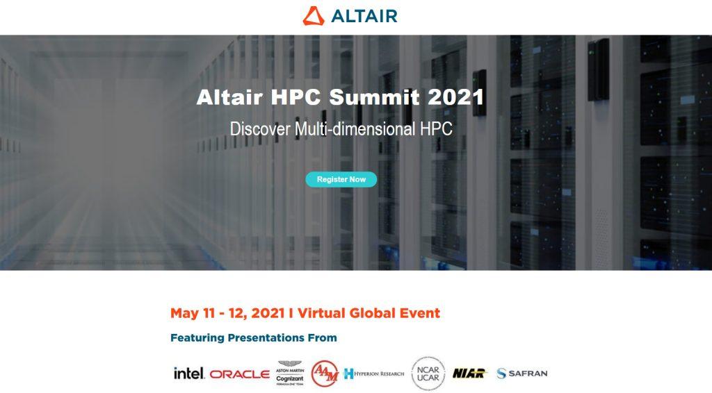 ועדית HPC של חברת Altair. צילום מסך: עכשיו בטכנולוגיה